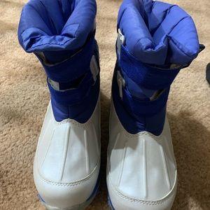 Kids LL Bean Insulated Winter Snow Boots